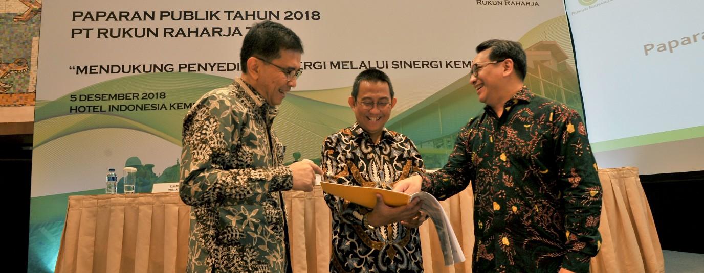 Public expose at Kempinski Hotel, Pelataran Ramayana Room, Jakarta