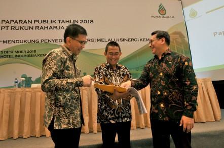 Pelaksanaan public expose di Hotel Kempinski, Ruang Pelataran Ramayana, Jakarta