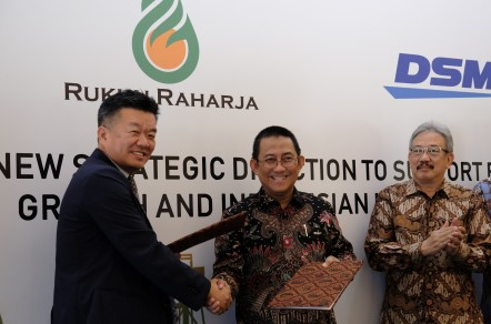 Signing of Sale-Purchase Deed of PT Raharja Energi Cepu